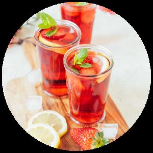 Освежающий чай в жару