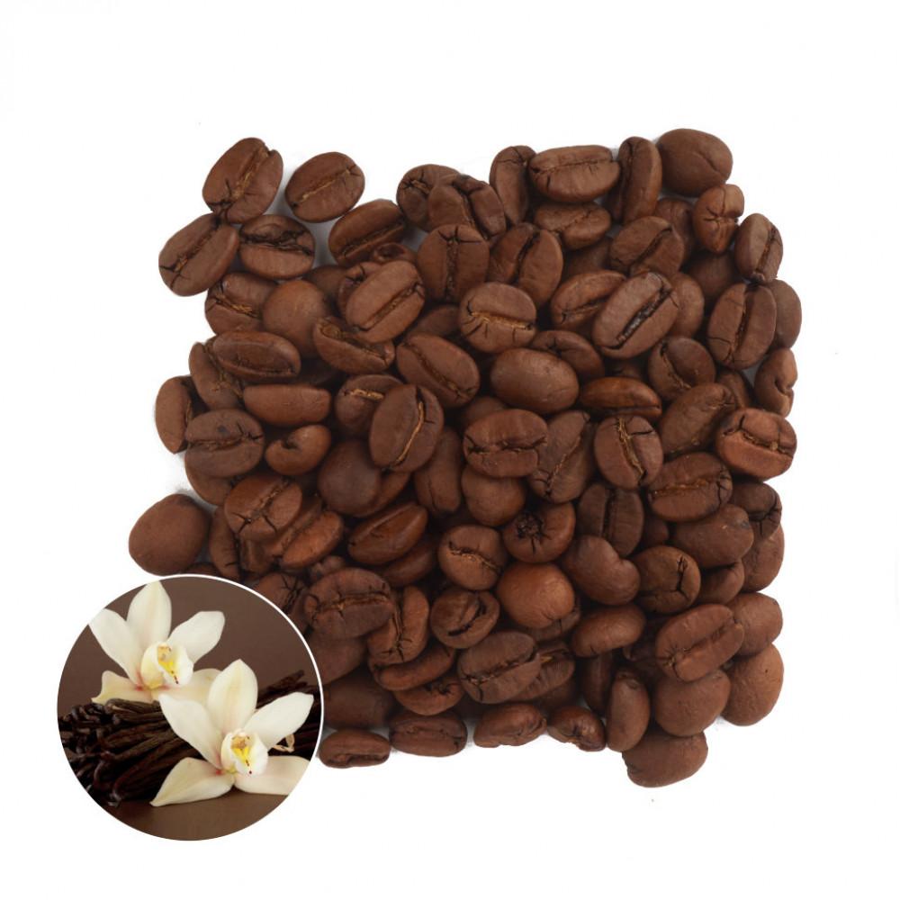 Французская ваниль Кофе в зернах ароматизированный