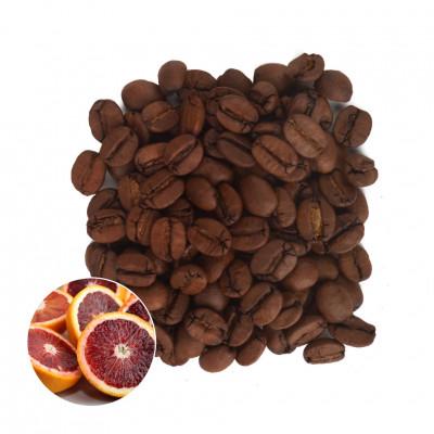 Красный Апельсин Кофе в зернах ароматизированный