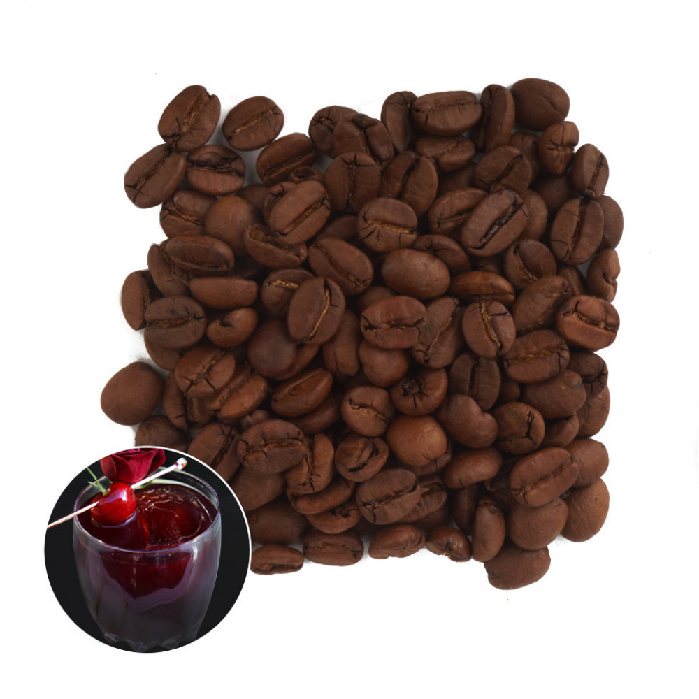 Пьяная Вишня Кофе в зернах ароматизированный