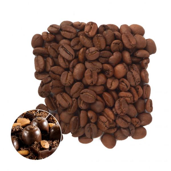 Шоколадный Миндаль Кофе в зернах ароматизированный