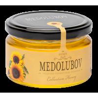 Мёд Медолюбов подсолнечниковый 250мл