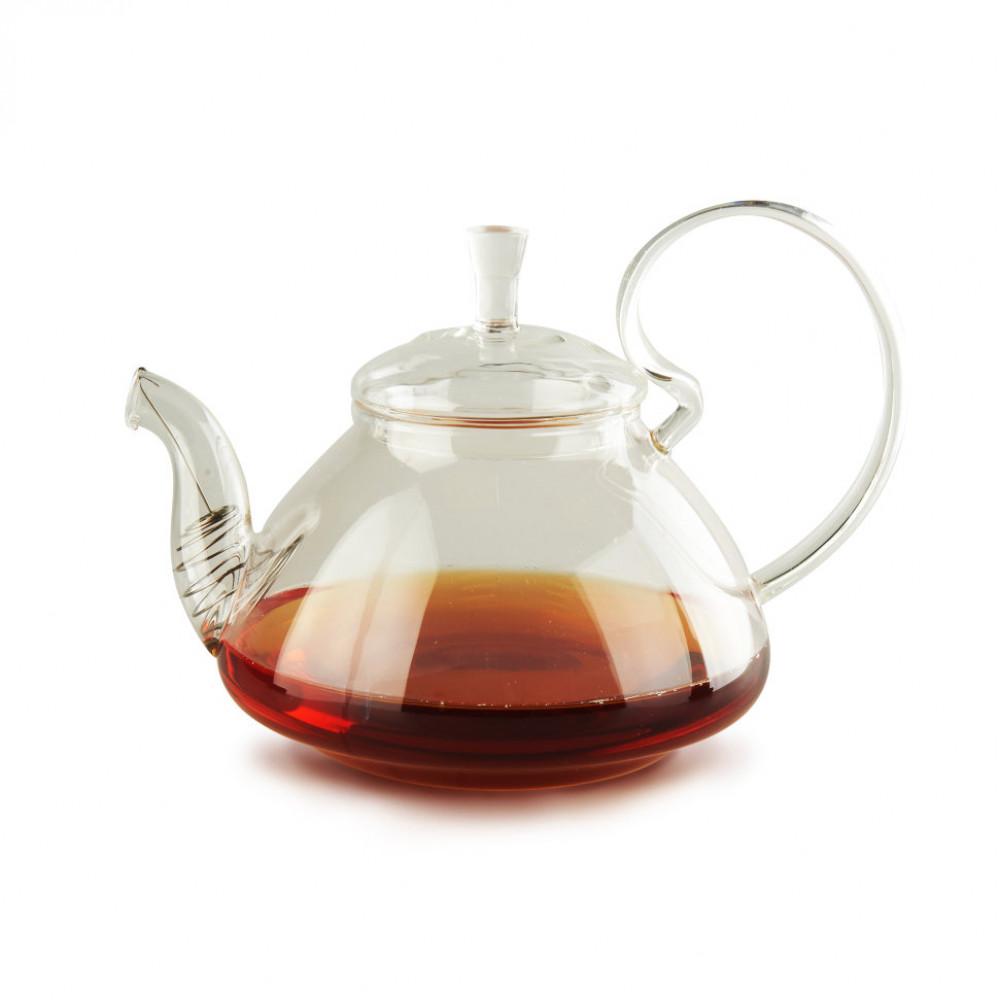Чайник из жаропрочного стекла 1200 мл Клюква