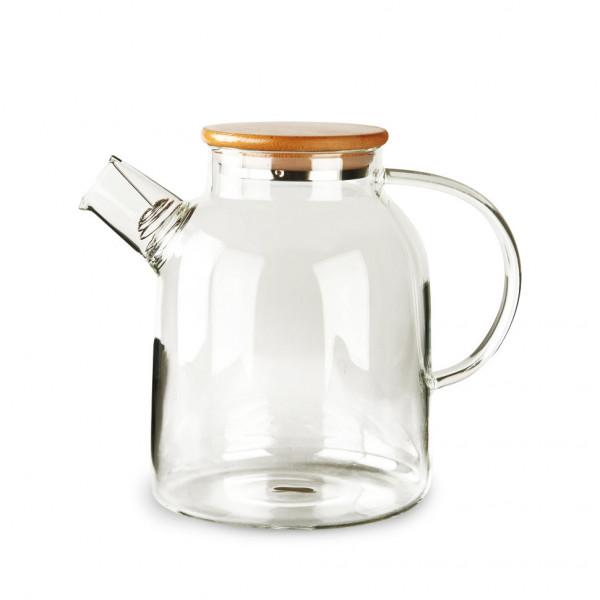 Чайник из жаропрочного стекла 1500 мл Бочонок