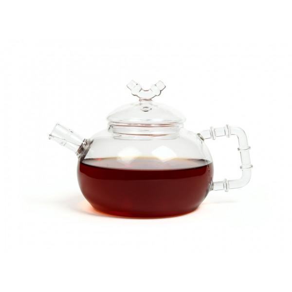 Чайник из жаропрочного стекла 500 мл Бамбук