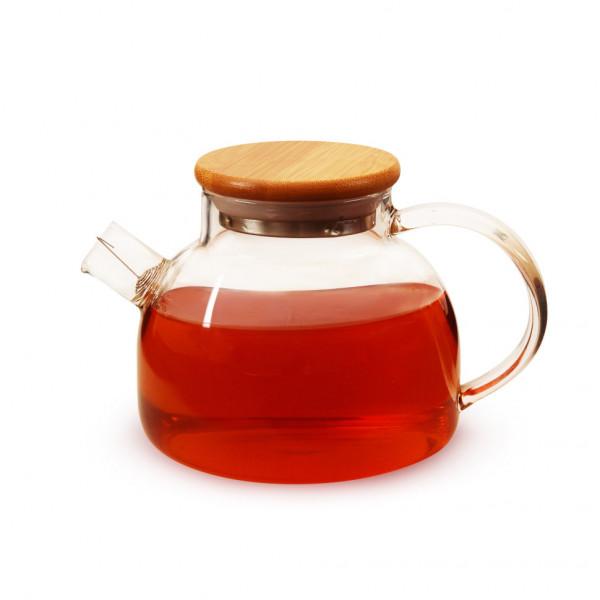 Чайник из жаропрочного стекла 500 мл Бочонок