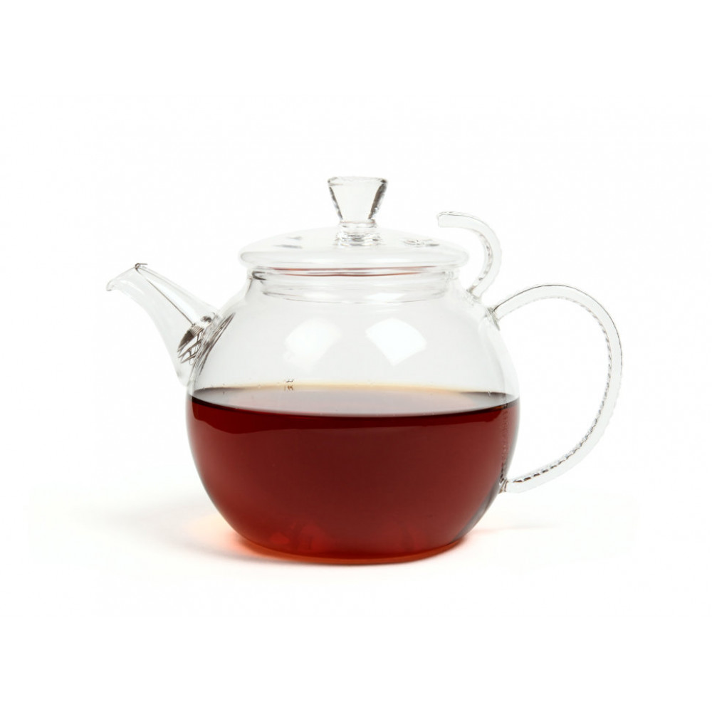 Чайник из жаропрочного стекла 600мл Грация (Босфор)
