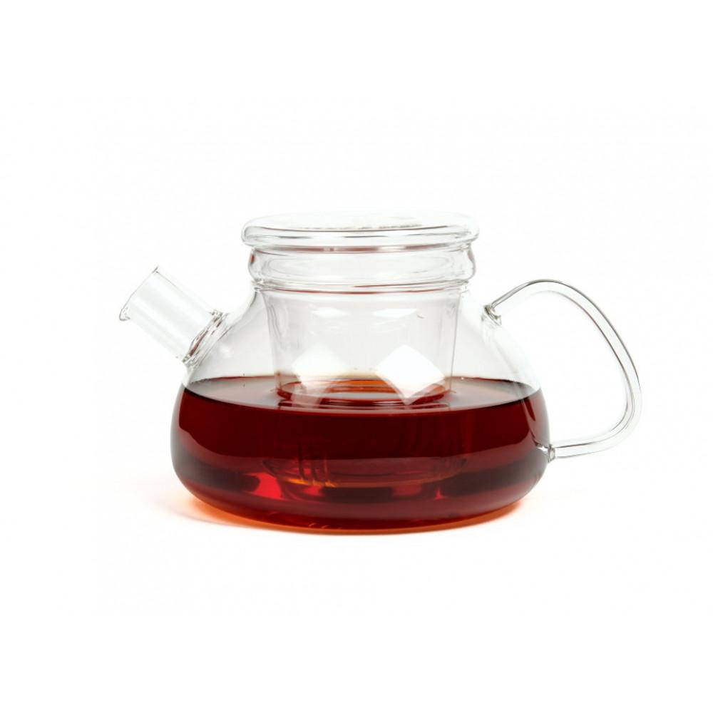 Чайник из жаропрочного стекла 600 мл Киото