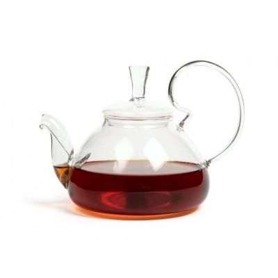 Чайник из жаропрочного стекла 600 мл Клюква