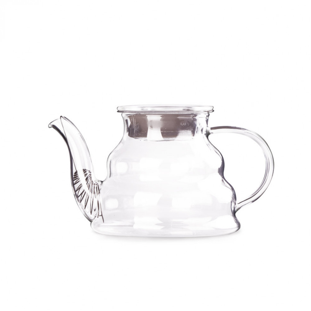 Чайник из жаропрочного стекла 750 мл Тама