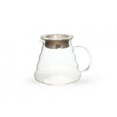 Сервировочный чайник из жаропрочного стекла 500мл Тама