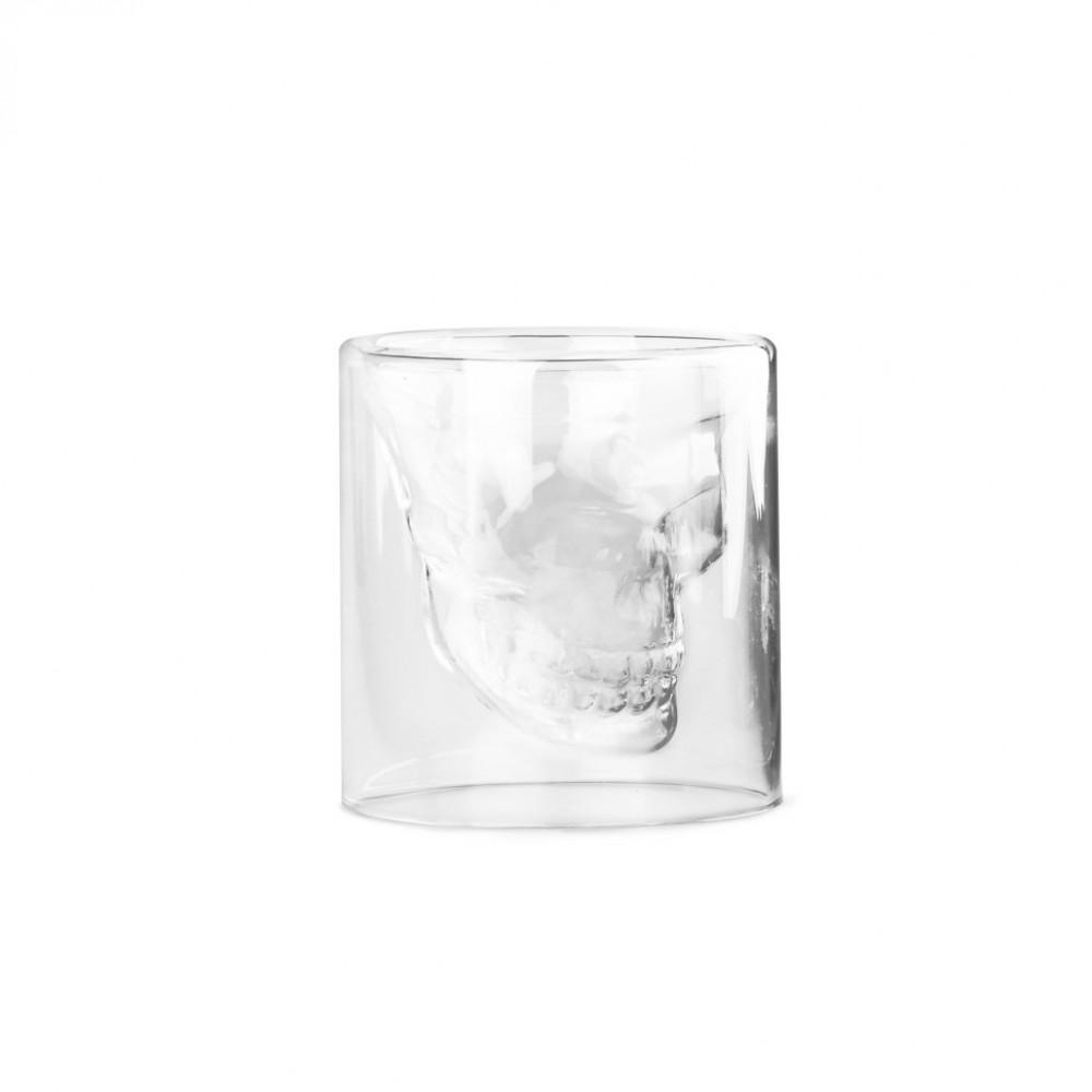 Бокал из жаропрочного стекла Череп 100 мл