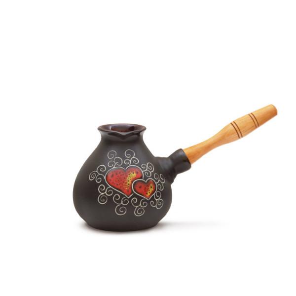"Турка ""Огненное сердце"" (капля) 450 мл"