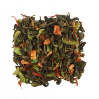 Чай зеленый ароматизированный «Айва с персиком» (5 O'Clock)