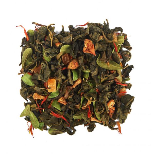 Айва с персиком (5 O'Clock) Чай зеленый ароматизированный