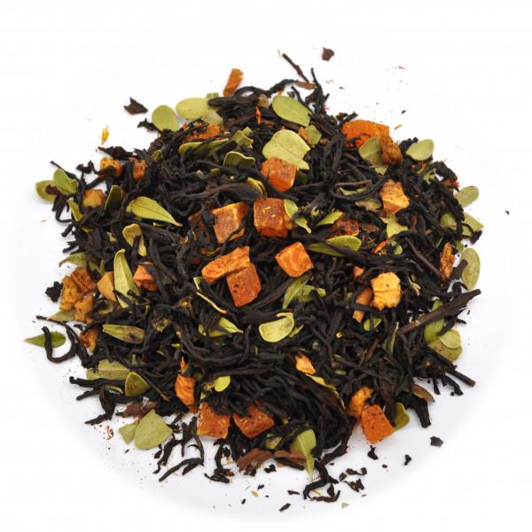 Айва с персиком (Premium) Чай черный ароматизированный