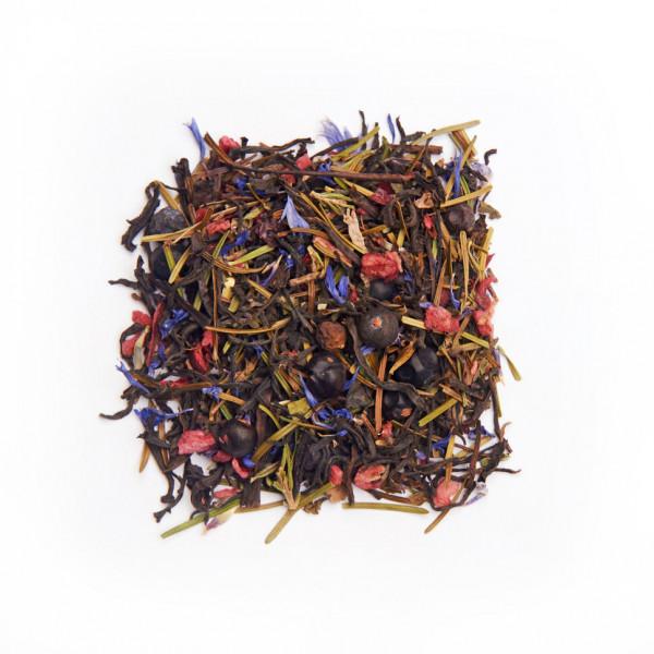 Алтайский караван Чай черный ароматизированный