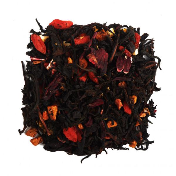 Апельсин и Годжи Чай черный ароматизированный