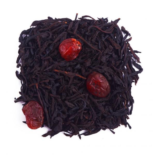 Дикая вишня Чай черный ароматизированный
