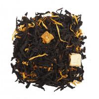 Чай черный ароматизированный Дыня со сливками