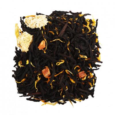 Гейша Чай черный ароматизированный