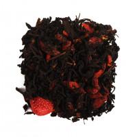 Чай черный ароматизированный «Годжи-земляника»