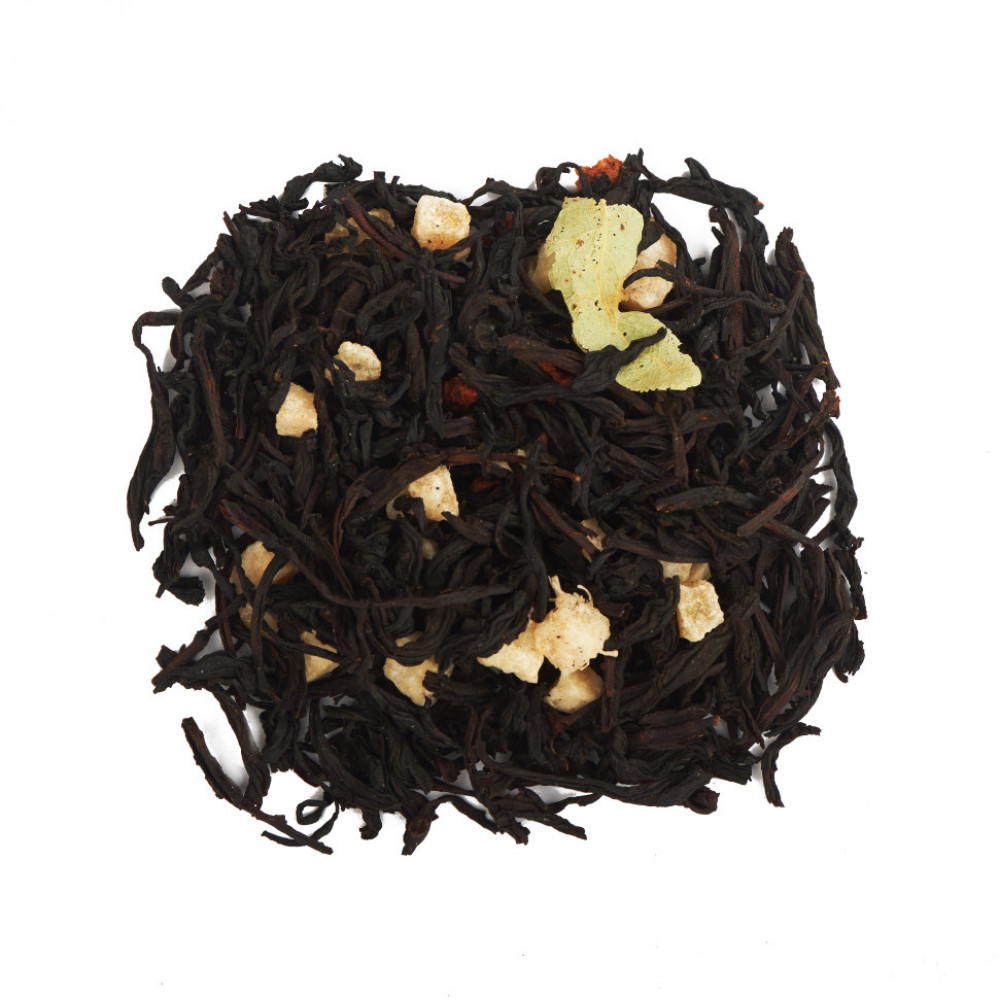 Клубника и Дыня Чай черный ароматизированный