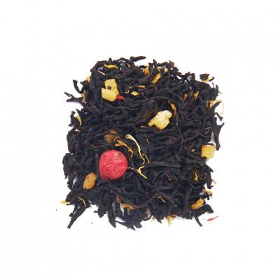Лев Чай черный ароматизированный
