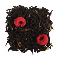 Чай черный ароматизированный «Малина со сливками»