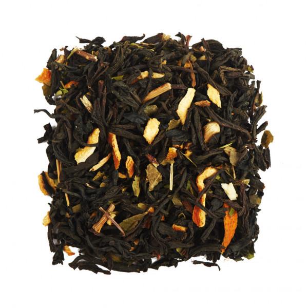 Мятный апельсин Чай черный ароматизированный