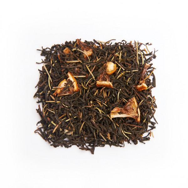 Розмарин и Бергамот Чай черный ароматизированный