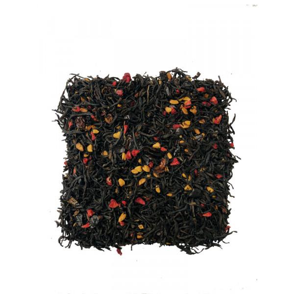 Шиповник Малина чёрный чай с добавками