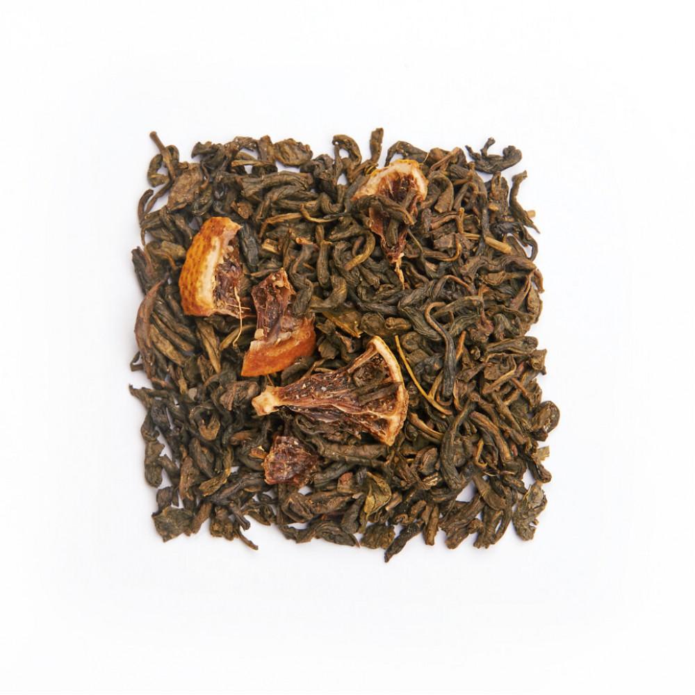 Лимон с медом Чай зеленый ароматизированный