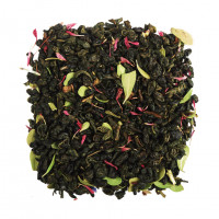 Чай зеленый ароматизированный «Клубника со сливками»