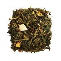 Чай зеленый ароматизированный Лимонник