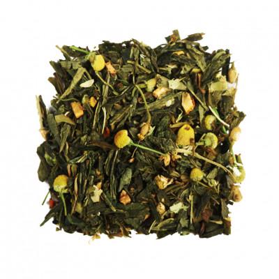 Японская липа Чай зеленый ароматизированный