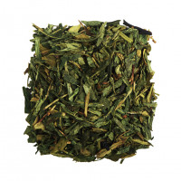 Чай зеленый ароматизированный Земляника со сливками