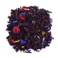 Чай зеленый с черным ароматизированный «Сливки с Ягодами» (Premium)