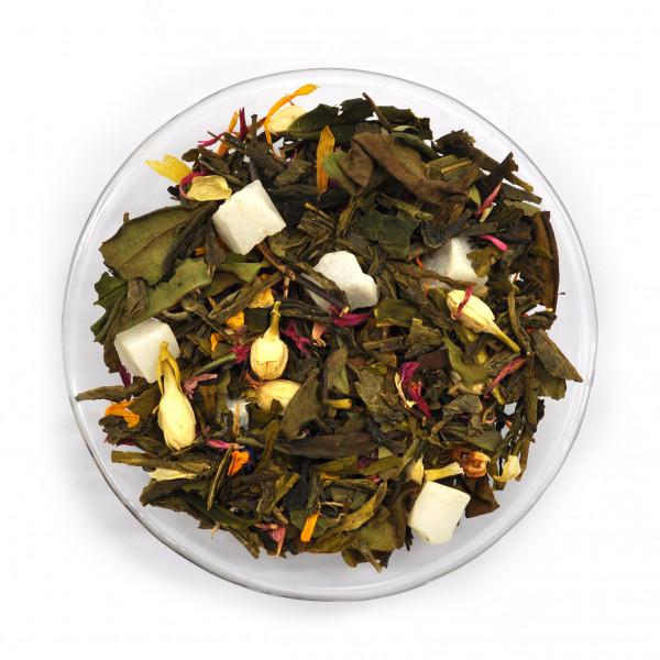 Восемь Сокровищ Шаолиня (Premium) Чай зеленый ароматизированный