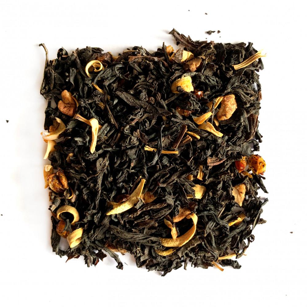 Облепиховый Чай черный ароматизированный