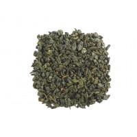 Китайский зеленый чай Ганпаудер молочный