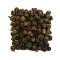 Китайский жасминовый чай Хуа Лун Чжу 1 категории (Жасминовая Жемчужина Дракона)