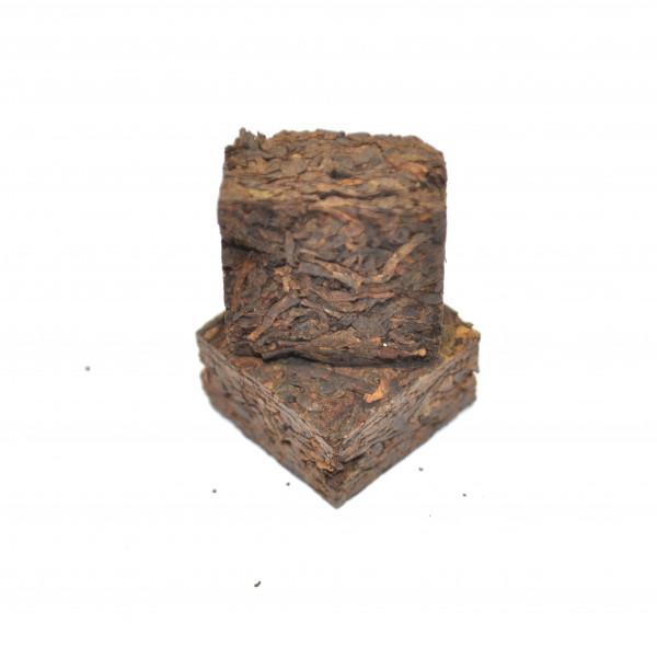 Шу Пуэр 5 лет (кирпичик, 10-11 г) некондиционная упаковка