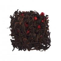 Китайский чай Пуэр с малиной