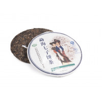 Китайский коллекционный Шен пуэр блин 400 г «Ци Цзе Бин» (фаб. Пу Вэн, Го Пу, 2006 г.)