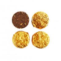 Китайский чай Шу Пуэр «Медальон» с фенхелем мелкий лист (7,8 г)