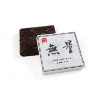 Китайский чай Шу Пуэр кирпич 100 г «Улянь» (фаб. Пуэр Диндун 2011 г.)