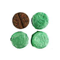 Китайский чай Шу Пуэр с мятой «Медальон» (мелкий лист, 6 г)