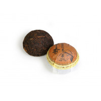 Китайский чай Шу пуэр точа 100 г «Ланьсян Шу То» (фаб. Ланьсян, 2012 г.)