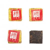 Китайский красный чай Дянь Хун (Кирпичик) (5,5 г), фаб. Менхай Чен Да